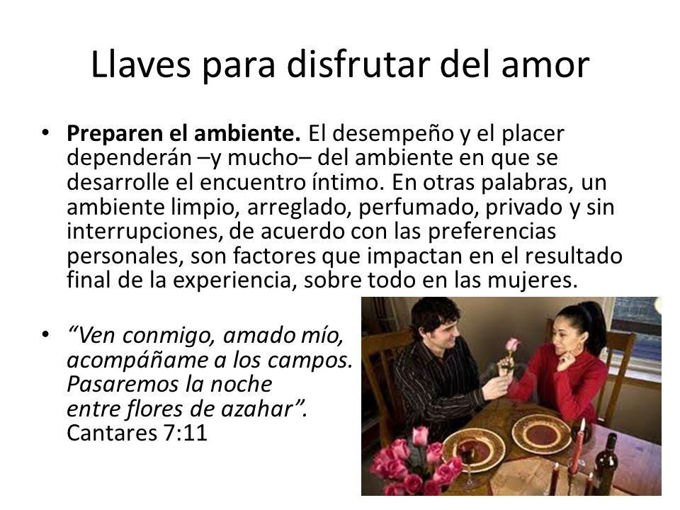 Llaves para disfrutar del amor