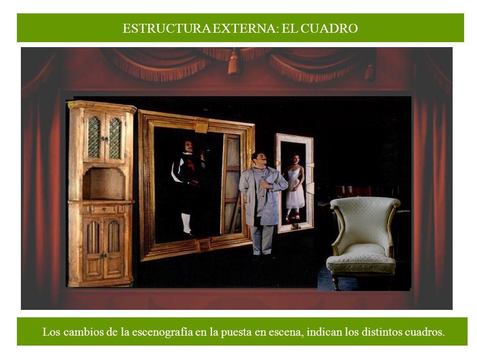 ESTRUCTURA EXTERNA: EL CUADRO