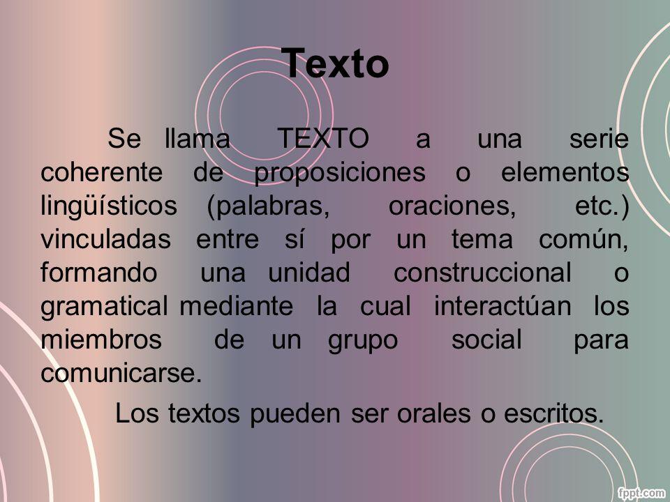 Texto