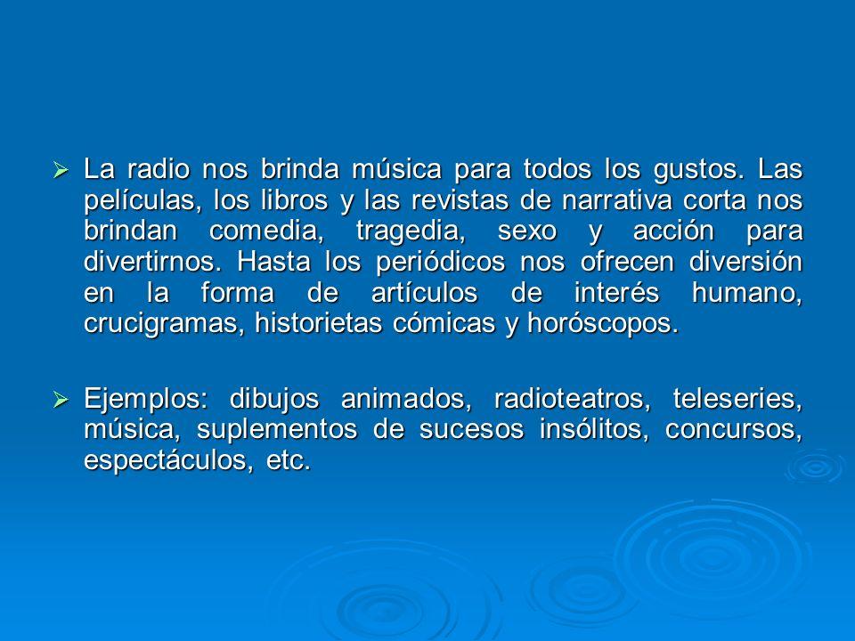 La radio nos brinda música para todos los gustos