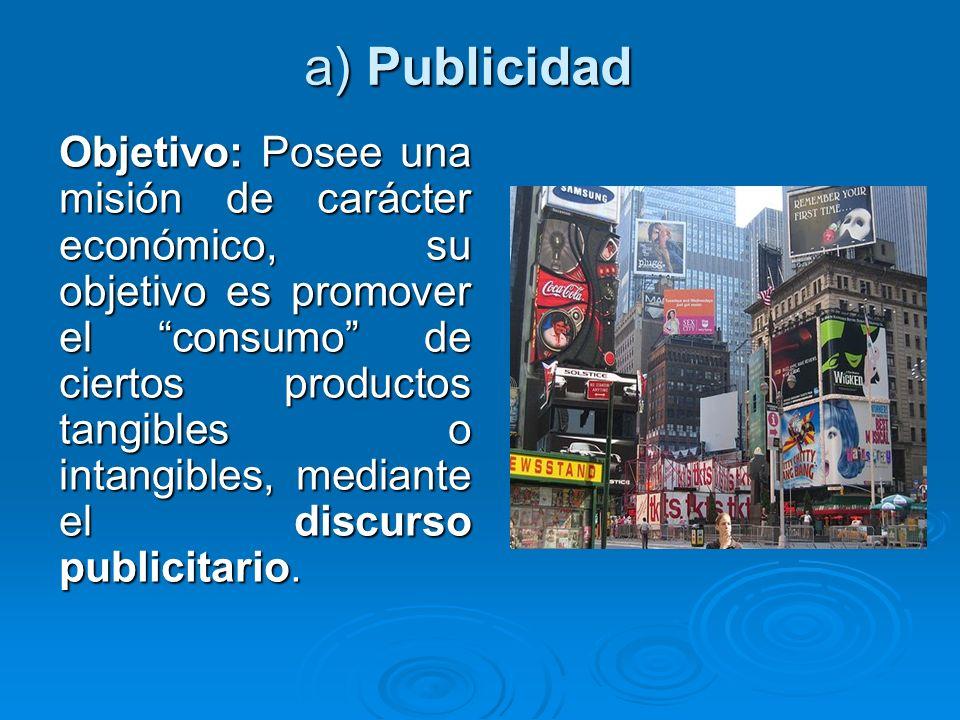 a) Publicidad