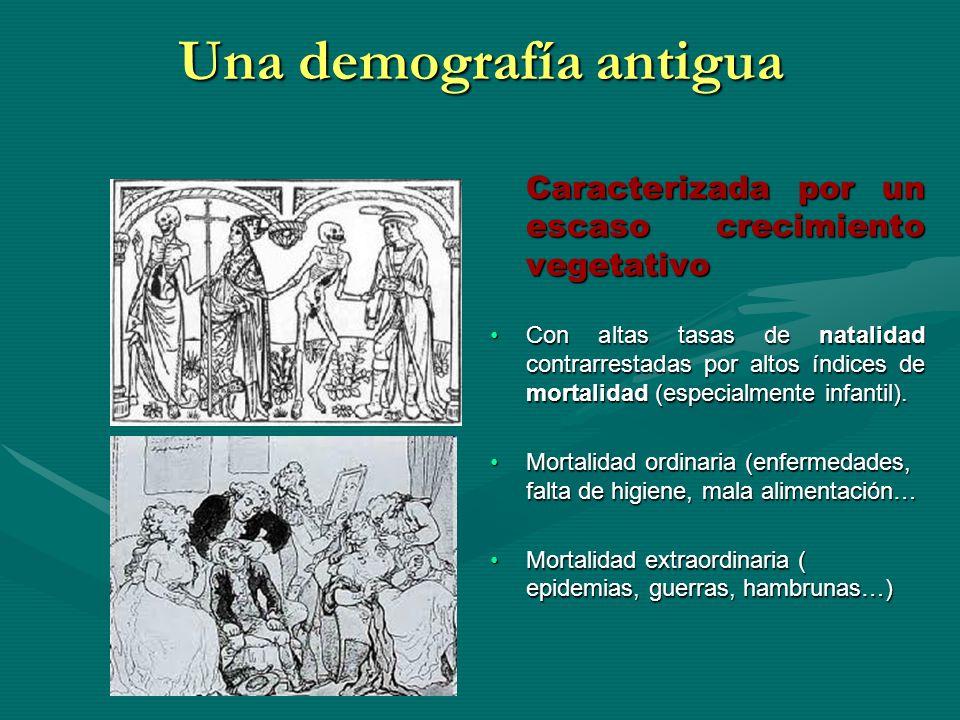 Una demografía antigua