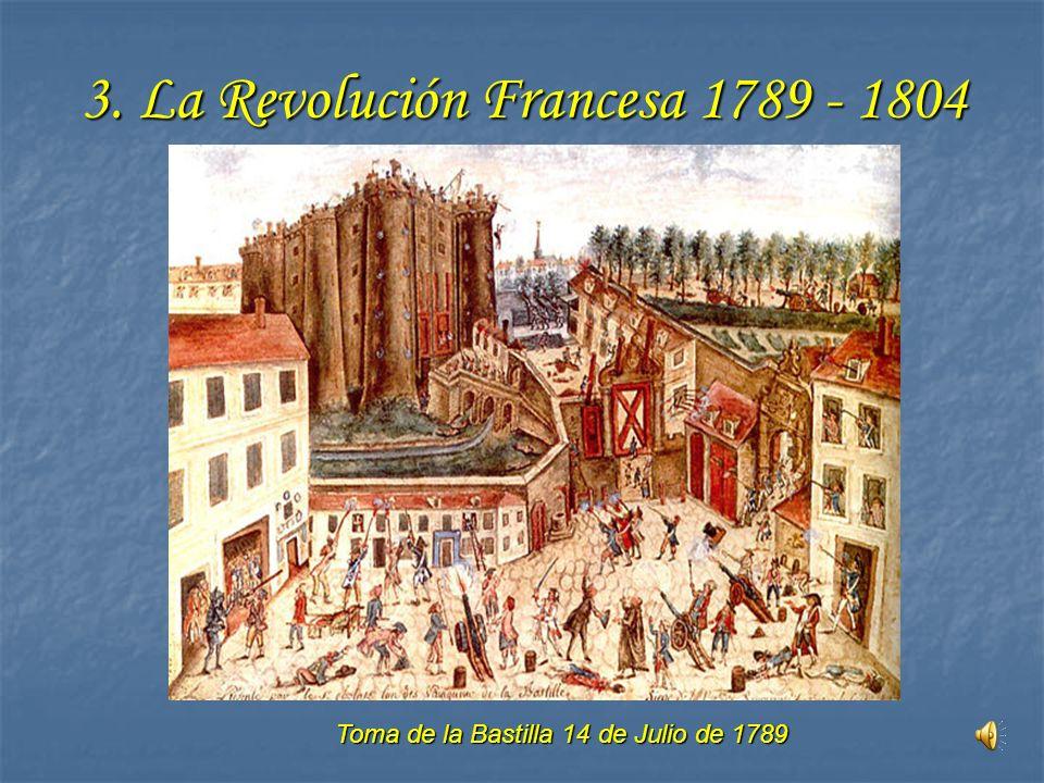 3. La Revolución Francesa 1789 - 1804