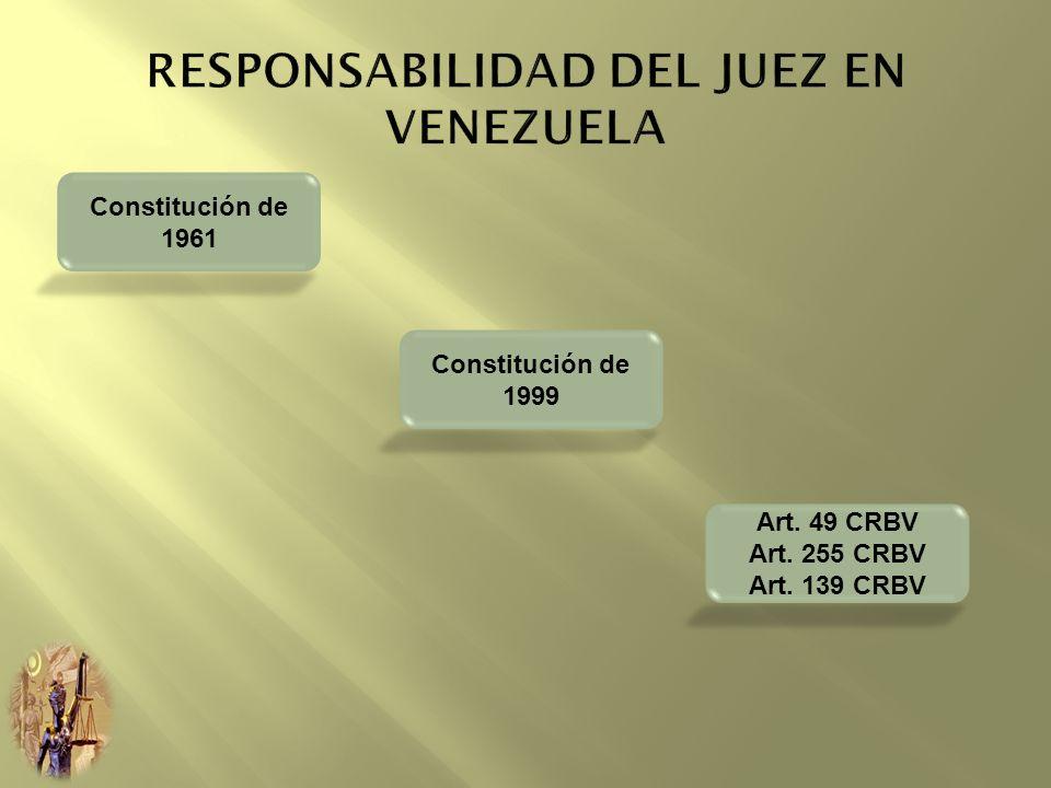 RESPONSABILIDAD DEL JUEZ EN VENEZUELA