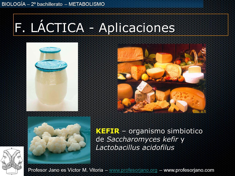 F. LÁCTICA - Aplicaciones