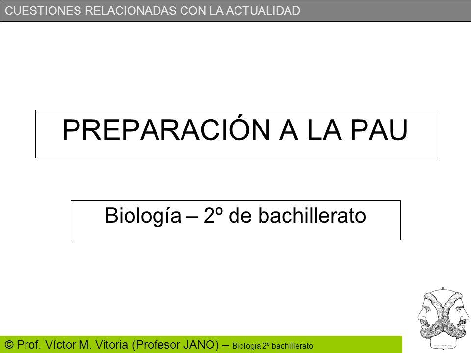 Biología – 2º de bachillerato