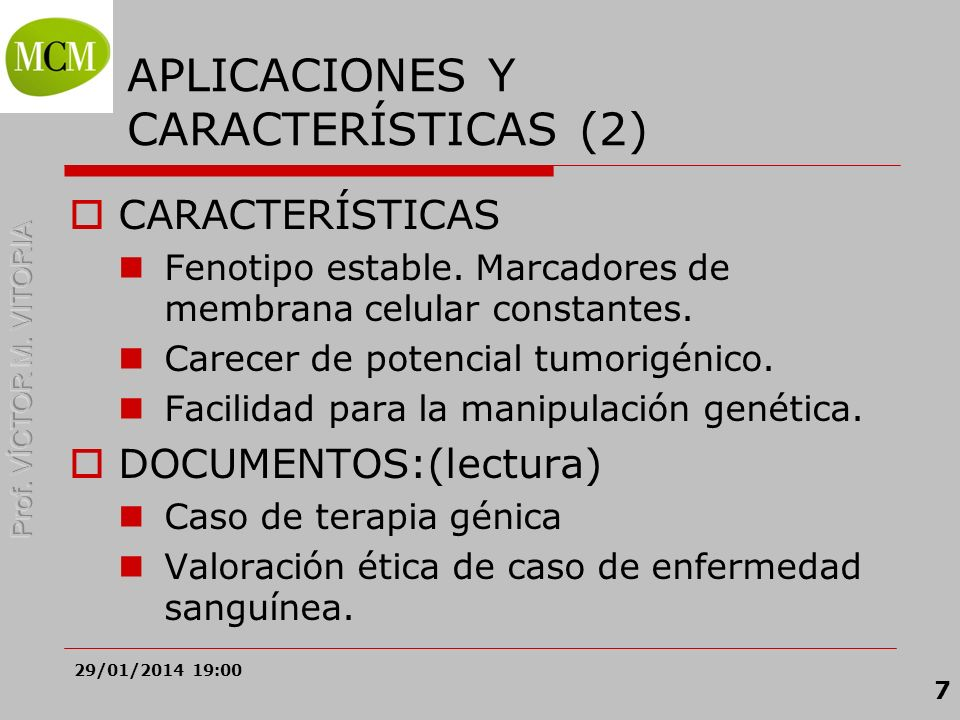 APLICACIONES Y CARACTERÍSTICAS (2)