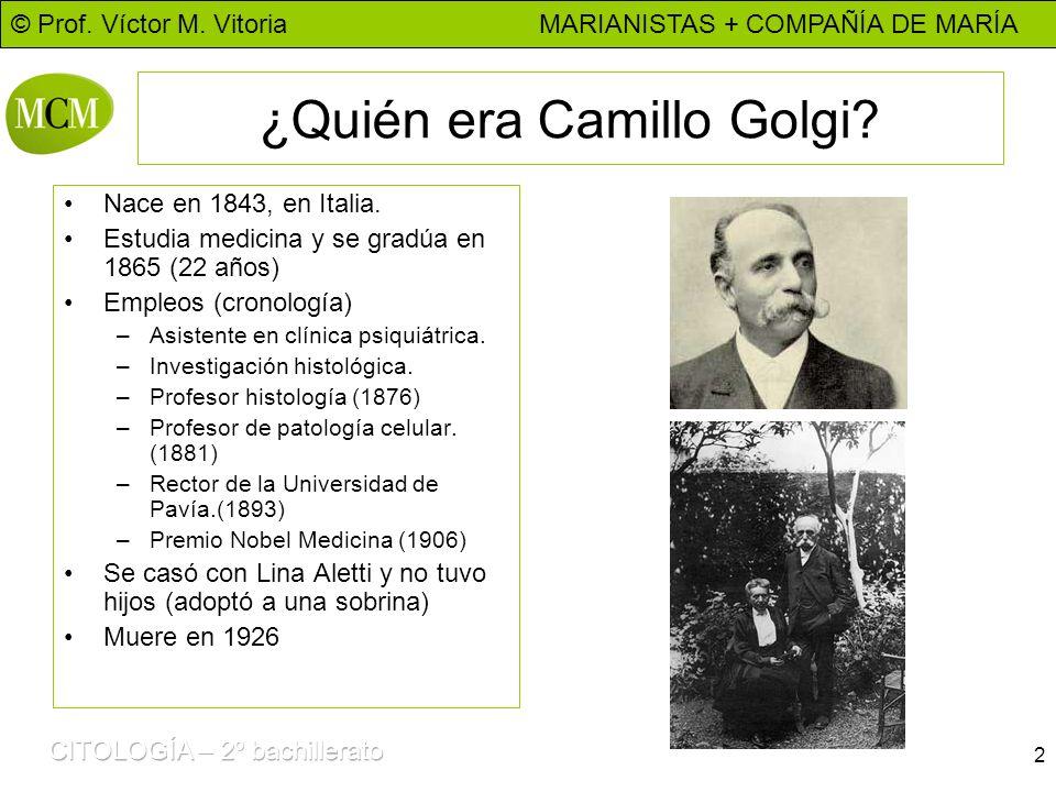 ¿Quién era Camillo Golgi