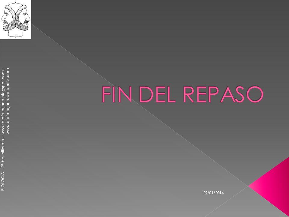 FIN DEL REPASO 24/03/2017