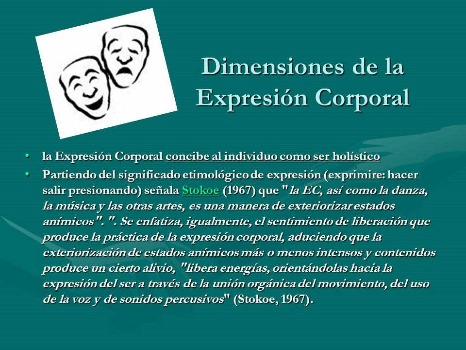 Dimensiones de la Expresión Corporal
