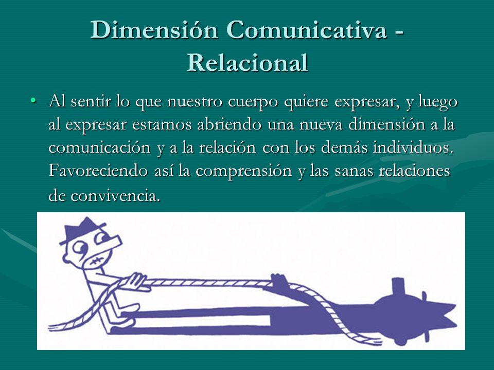 Dimensión Comunicativa - Relacional