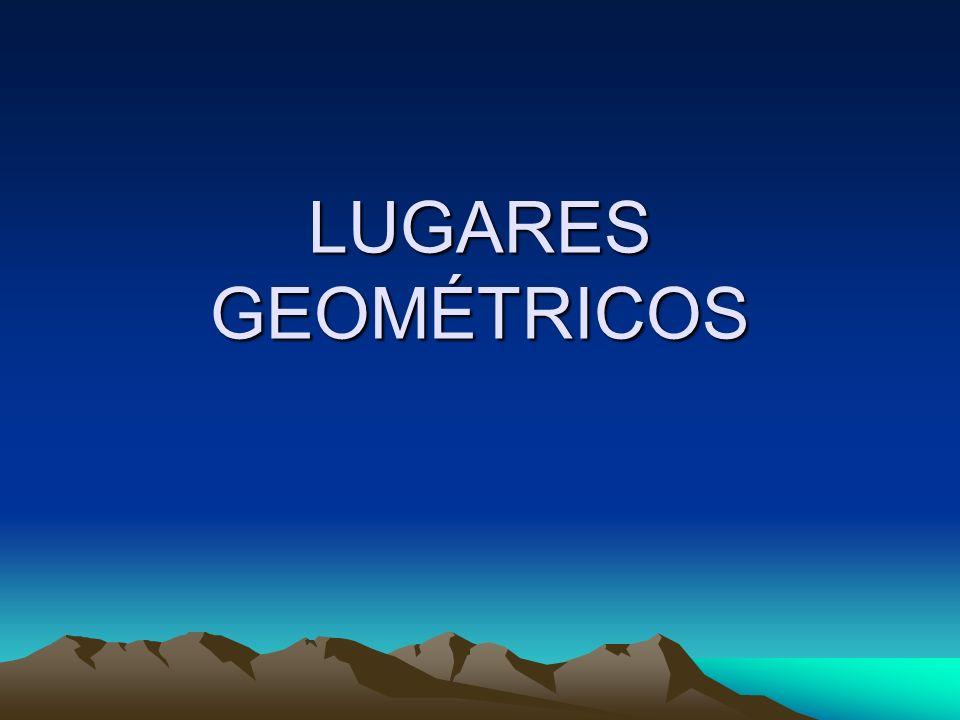 LUGARES GEOMÉTRICOS 1