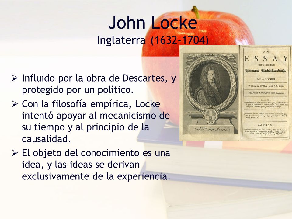 John Locke Inglaterra (1632-1704)