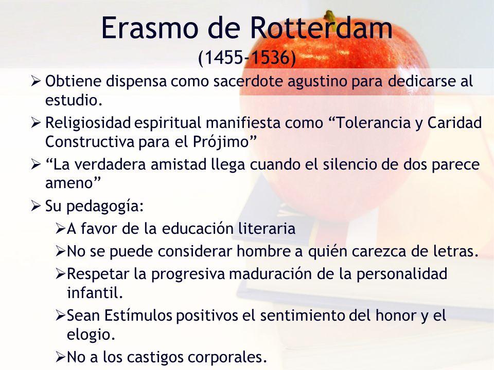 Erasmo de Rotterdam (1455-1536)