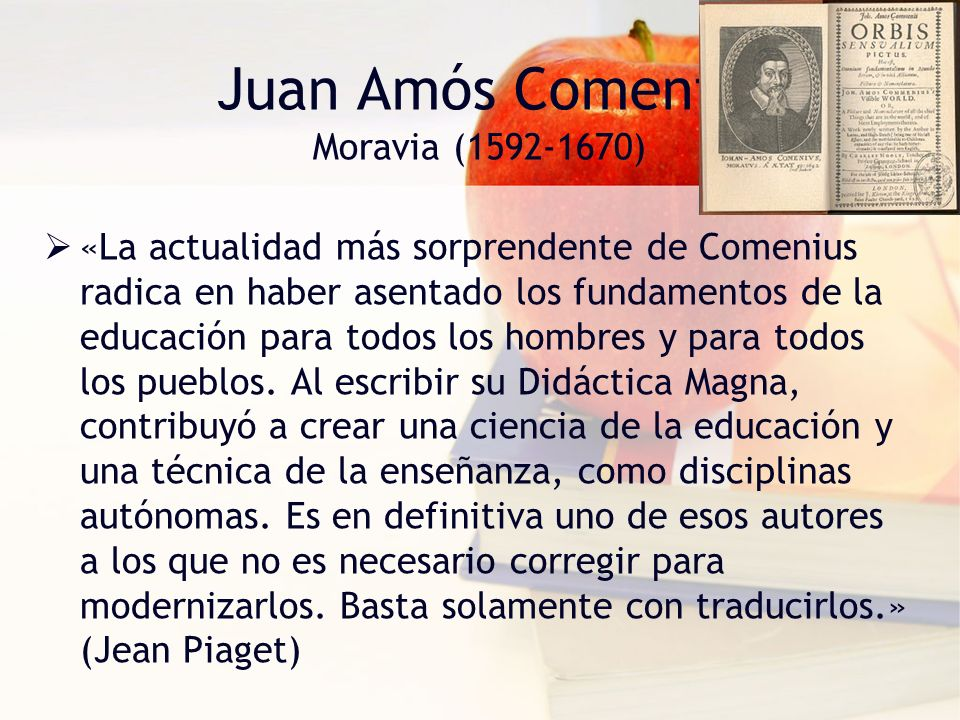 Juan Amós Comenio Moravia (1592-1670)