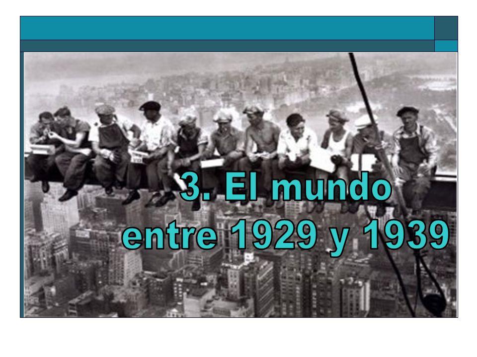 3. El mundo entre 1929 y 1939
