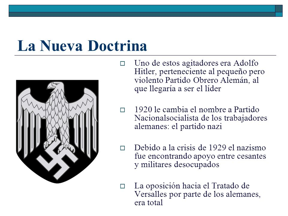La Nueva Doctrina