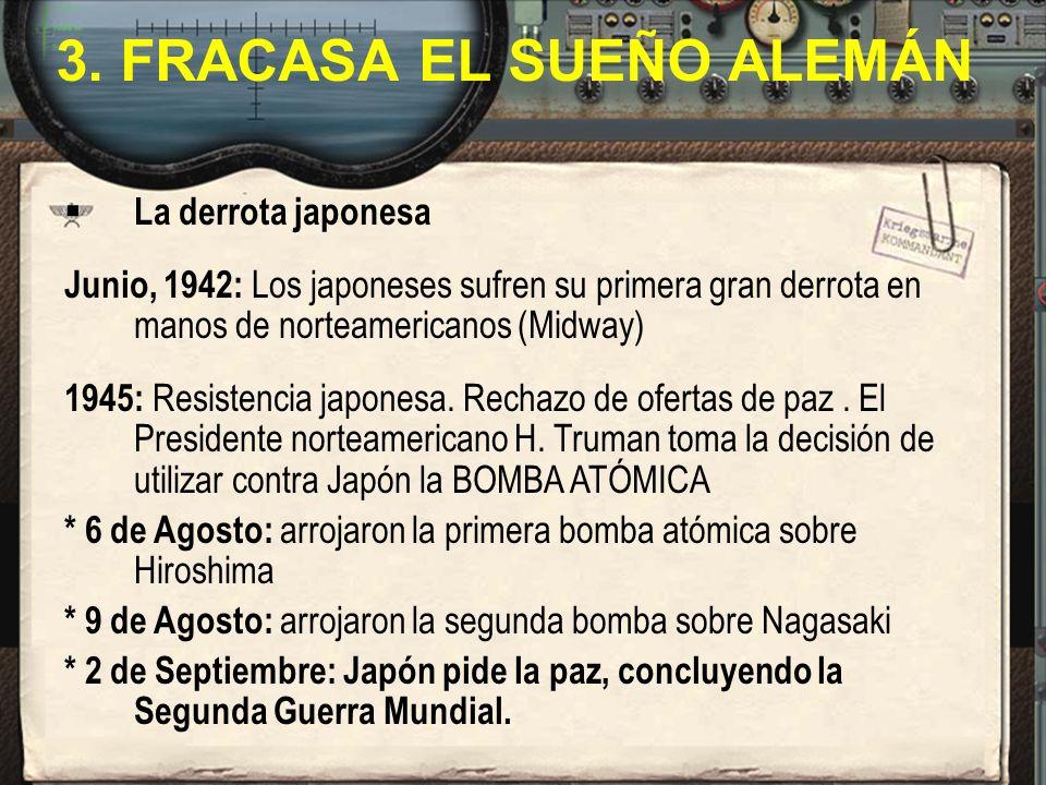 3. FRACASA EL SUEÑO ALEMÁN