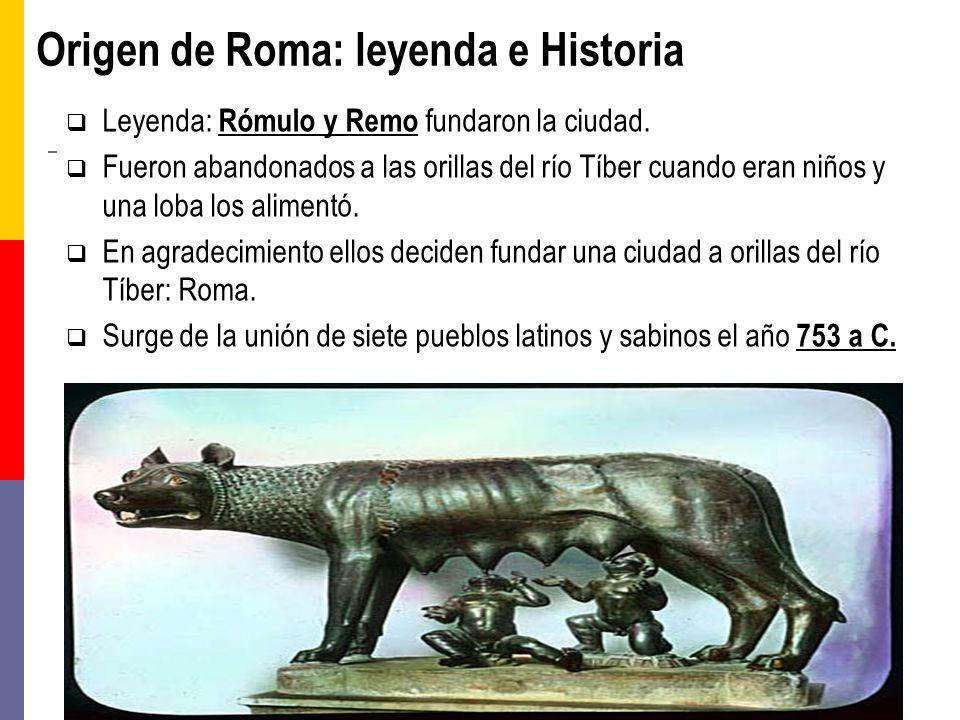 Origen de Roma: leyenda e Historia