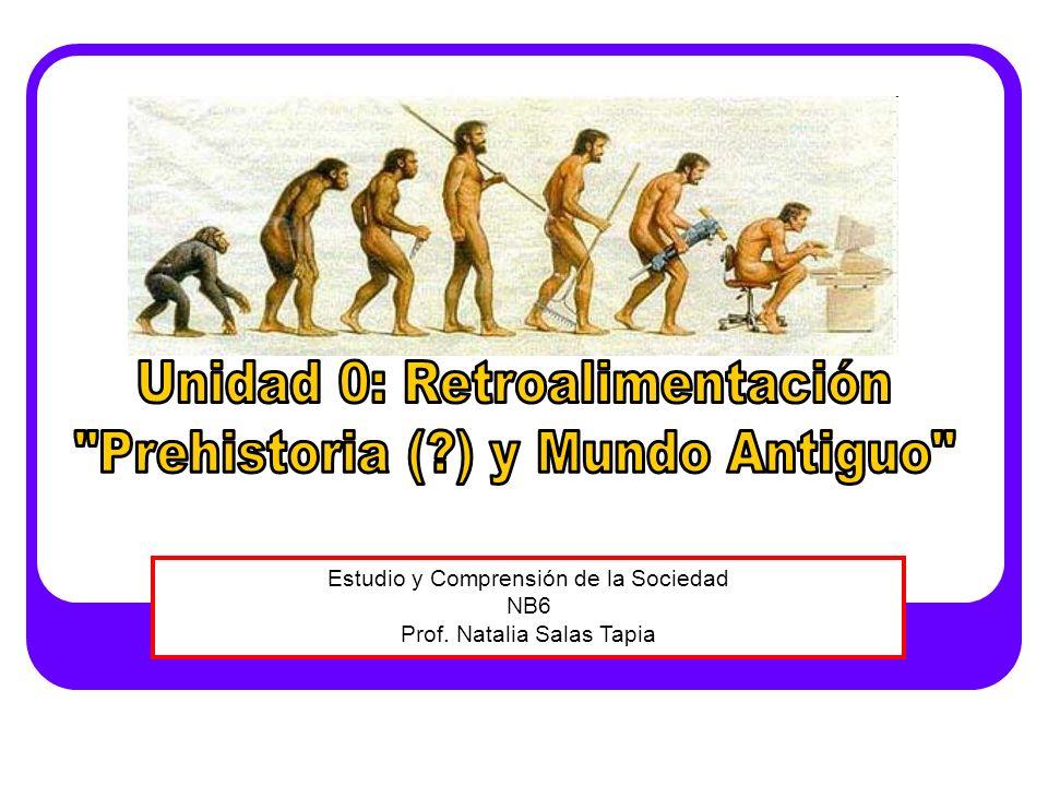 Unidad 0: Retroalimentación Prehistoria ( ) y Mundo Antiguo