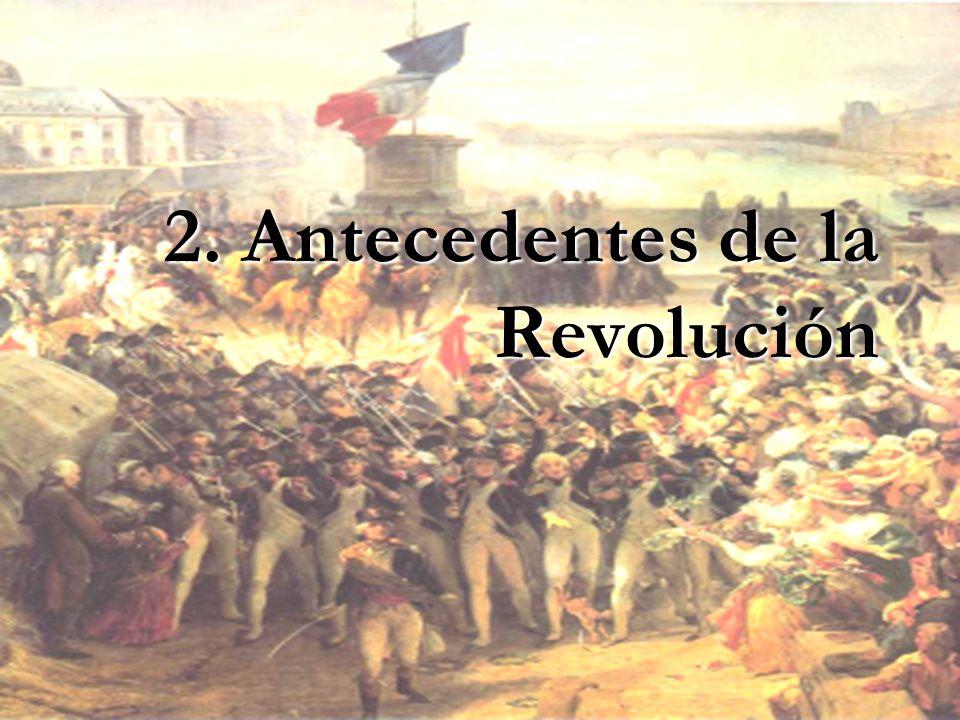 2. Antecedentes de la Revolución