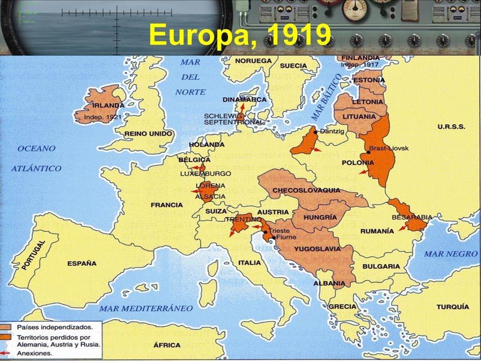 Europa, 1919
