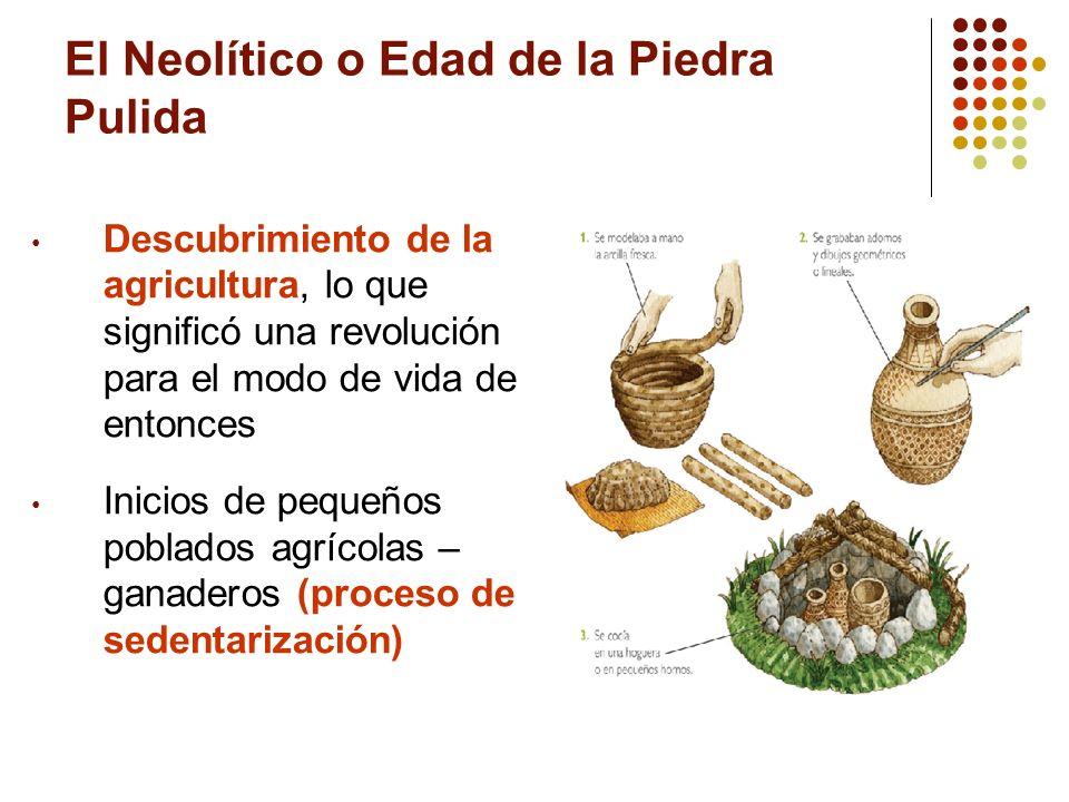 El Neolítico o Edad de la Piedra Pulida
