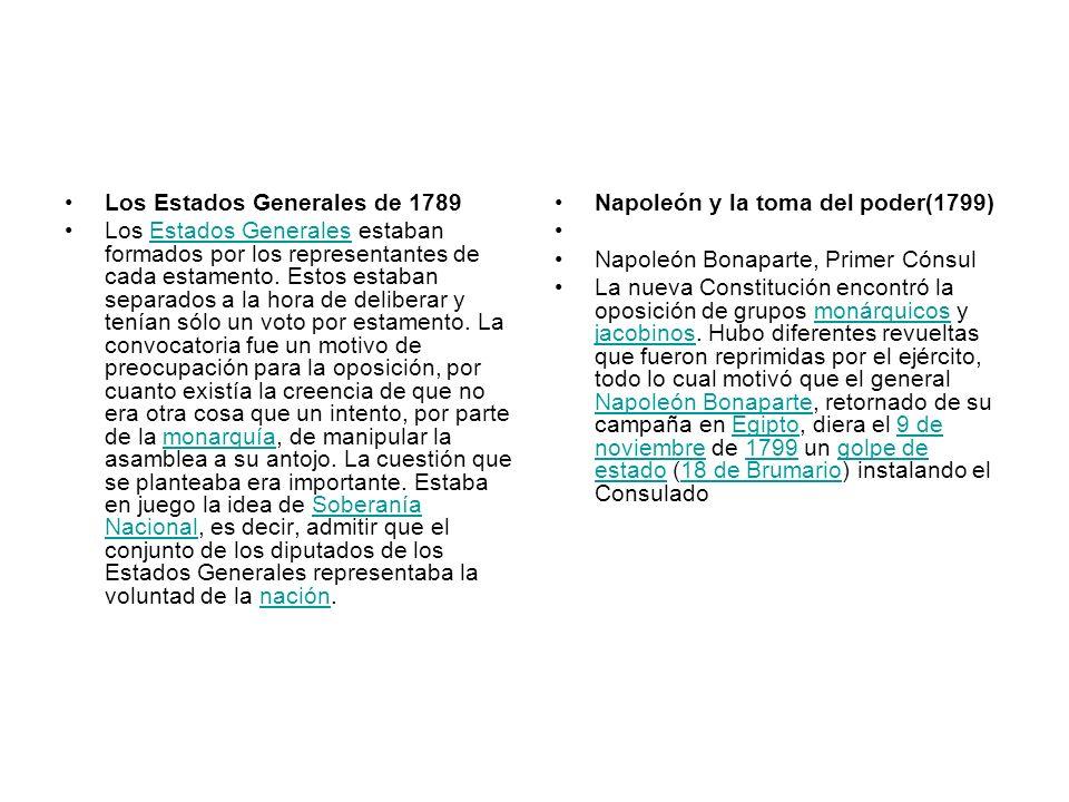 Los Estados Generales de 1789