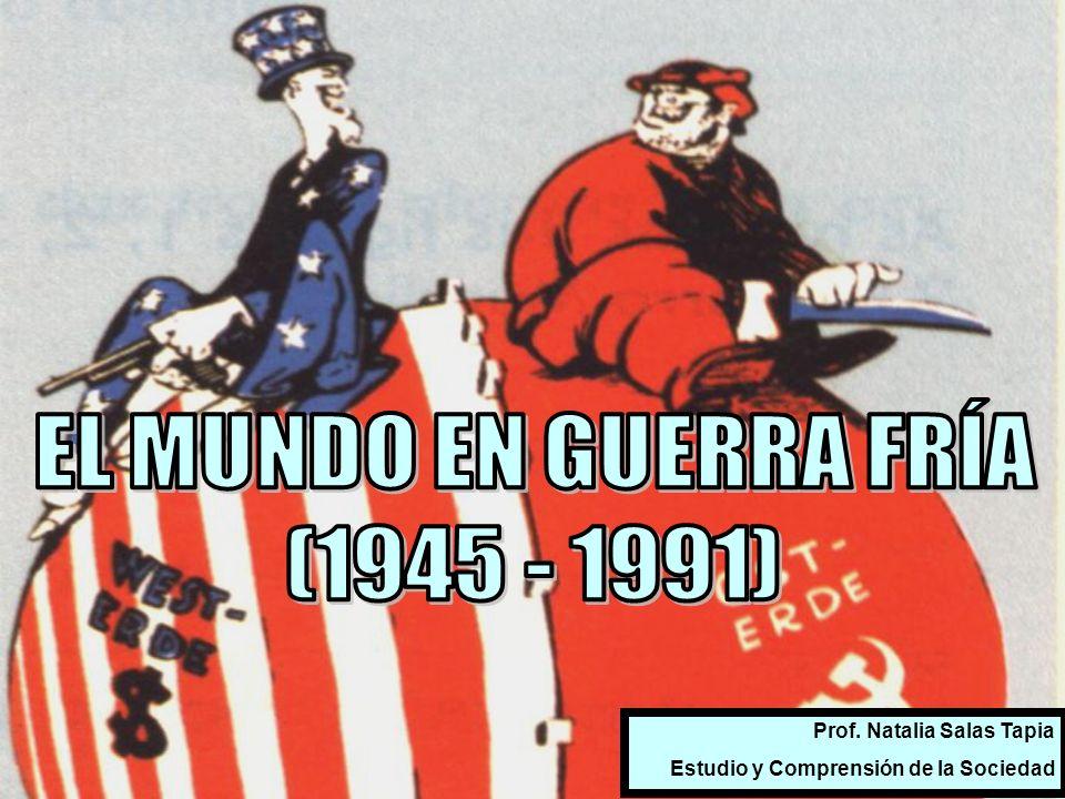 EL MUNDO EN GUERRA FRÍA (1945 - 1991) Prof. Natalia Salas Tapia