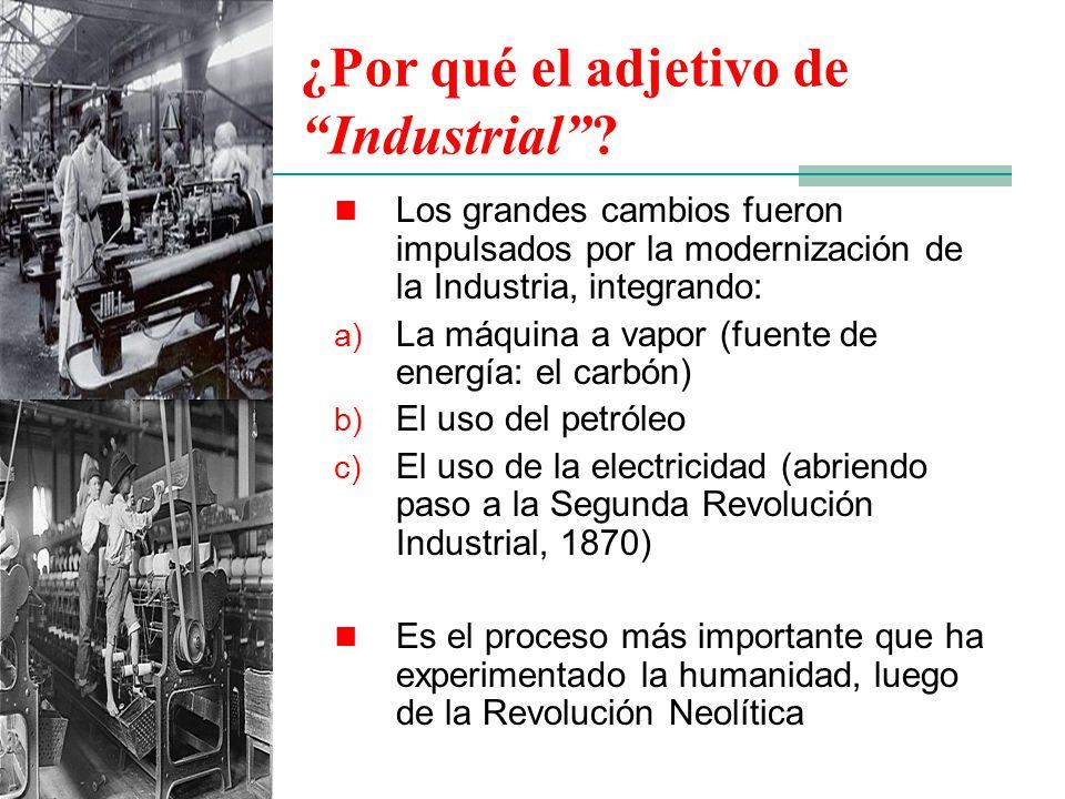 ¿Por qué el adjetivo de Industrial