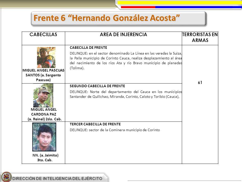Frente 6 Hernando González Acosta