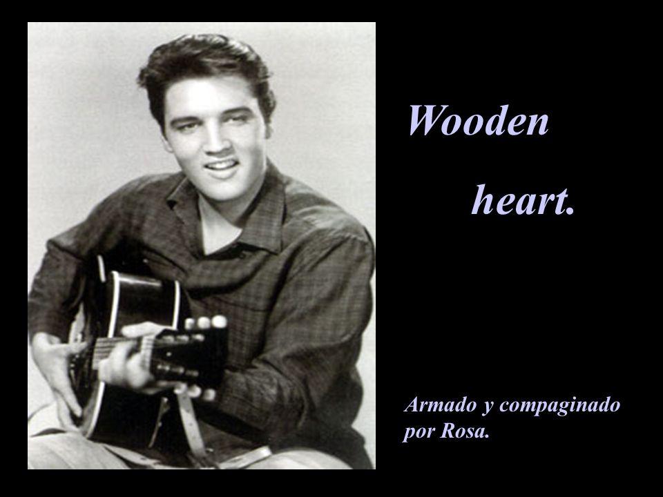 Wooden heart. Armado y compaginado por Rosa.
