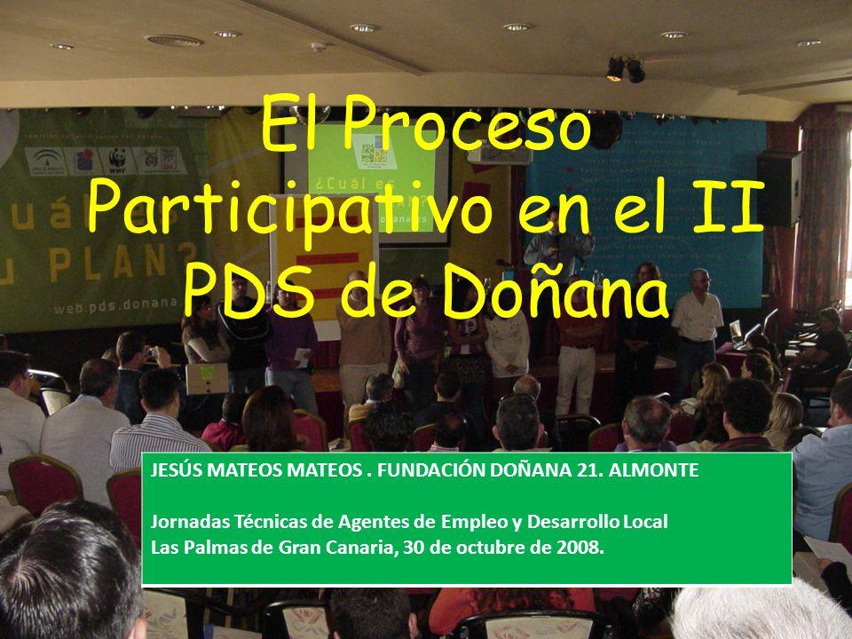 El Proceso Participativo en el II PDS de Doñana