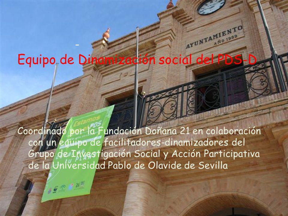 Equipo de Dinamización social del PDS-D