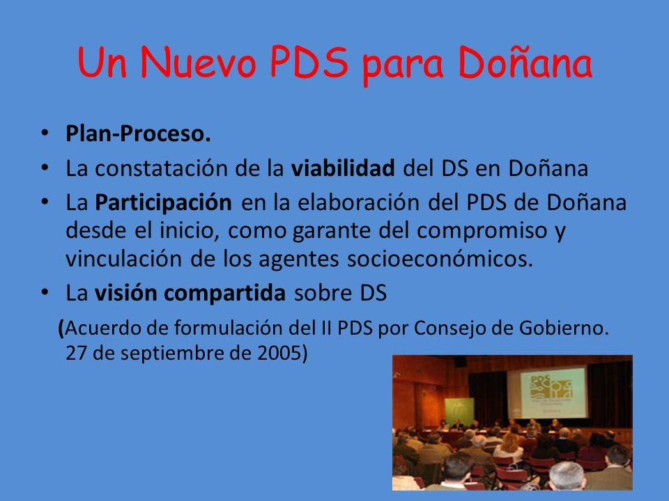 Un Nuevo PDS para Doñana