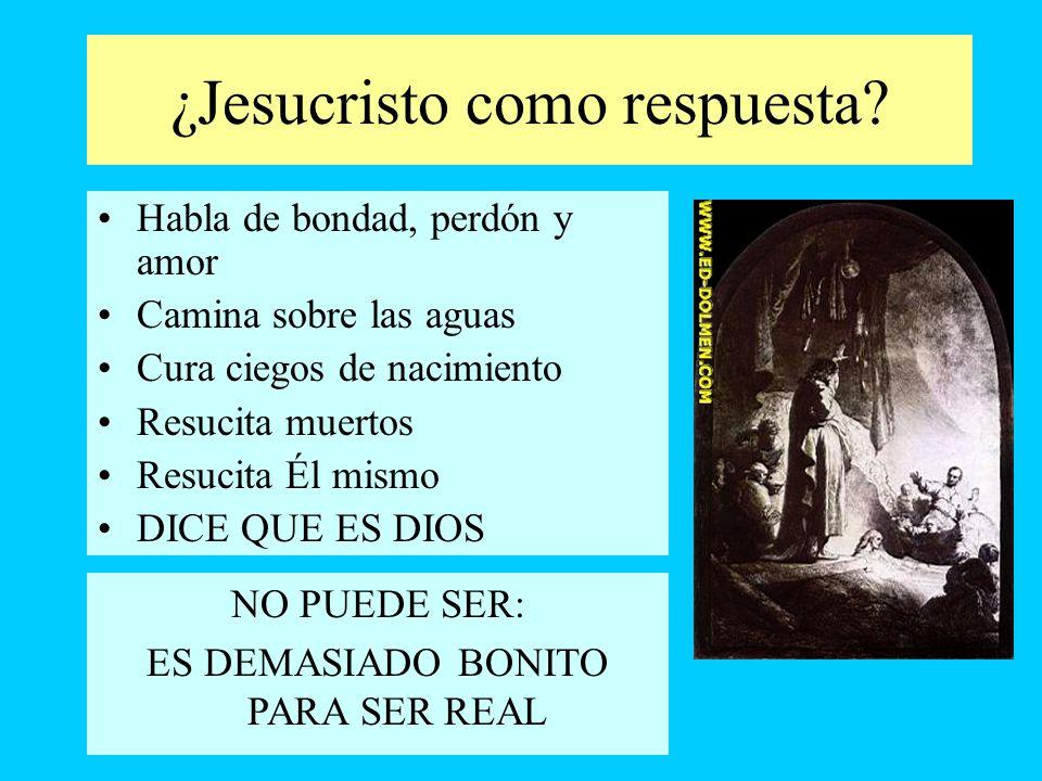 ¿Jesucristo como respuesta