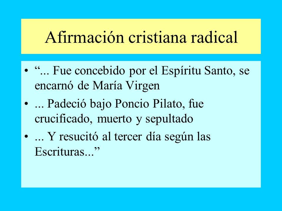 Afirmación cristiana radical