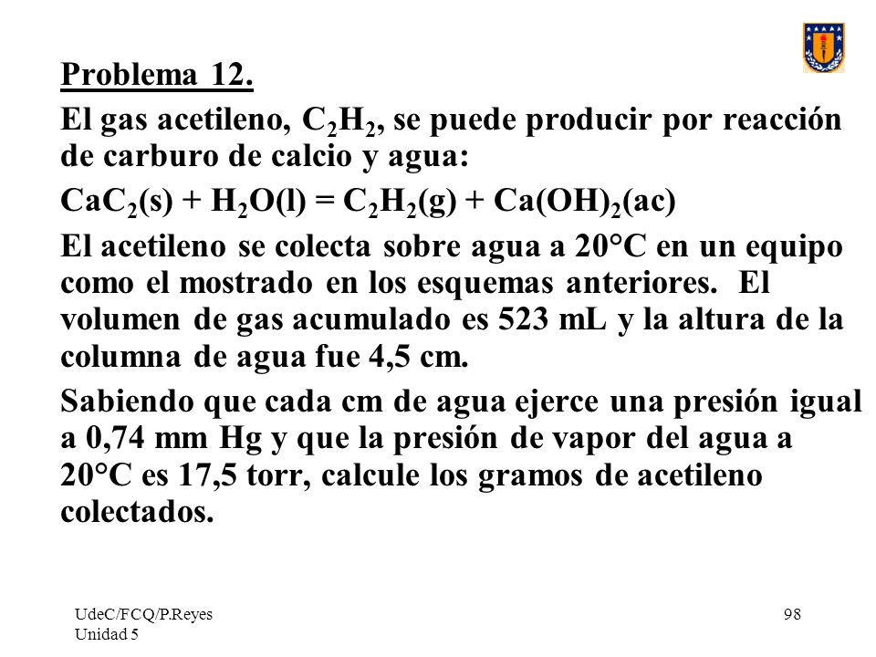 CaC2(s) + H2O(l) = C2H2(g) + Ca(OH)2(ac)