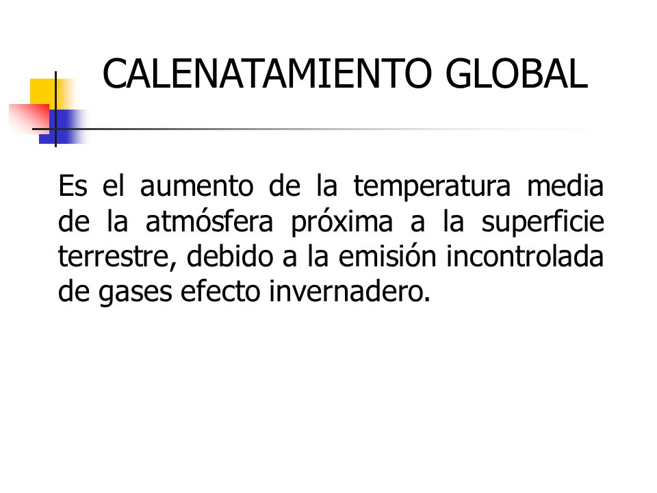CALENATAMIENTO GLOBAL