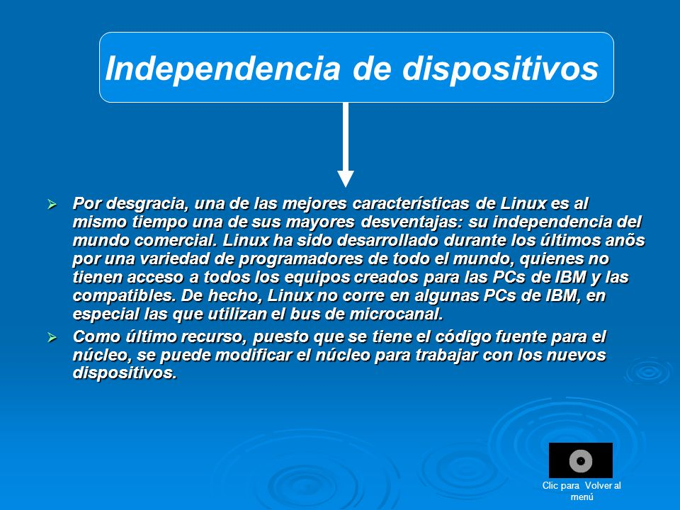 Independencia de dispositivos