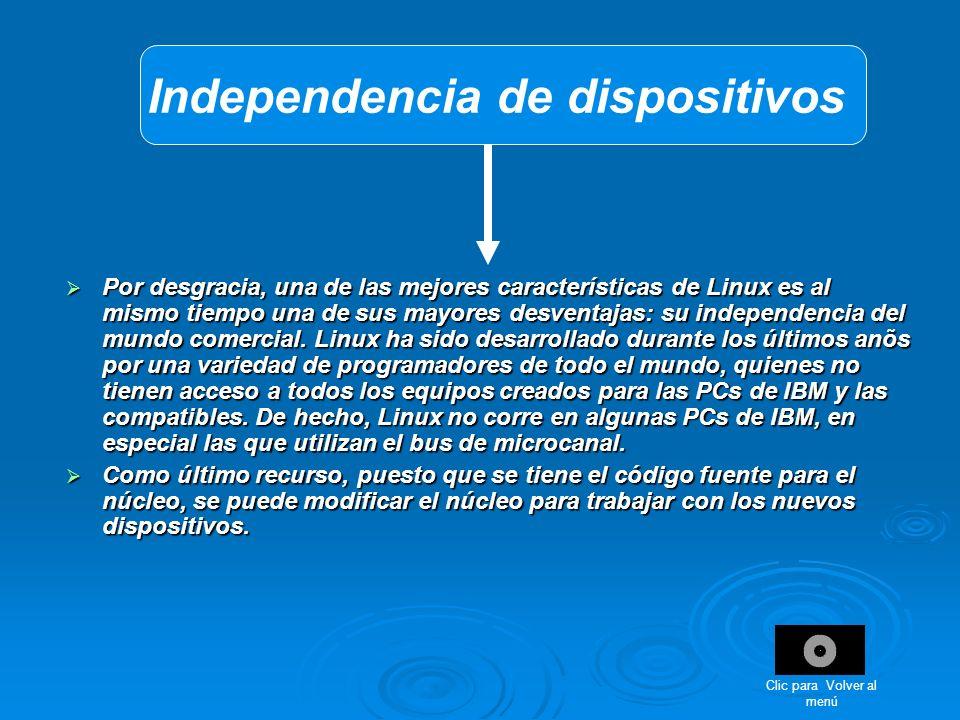 Independencia de dispositivos