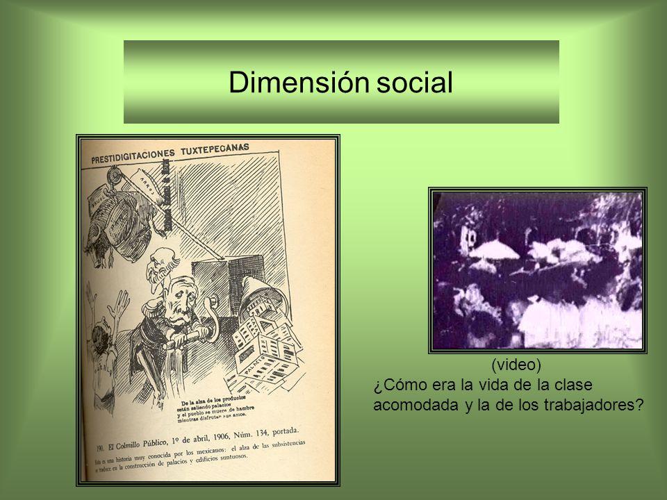 Dimensión social (video) ¿Cómo era la vida de la clase