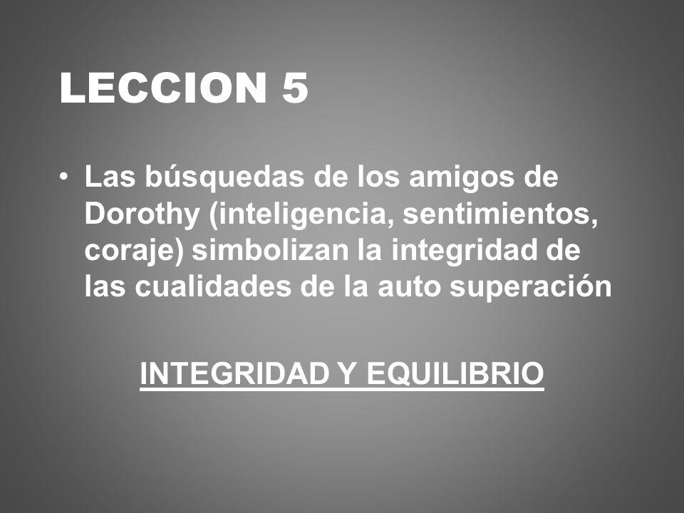 INTEGRIDAD Y EQUILIBRIO