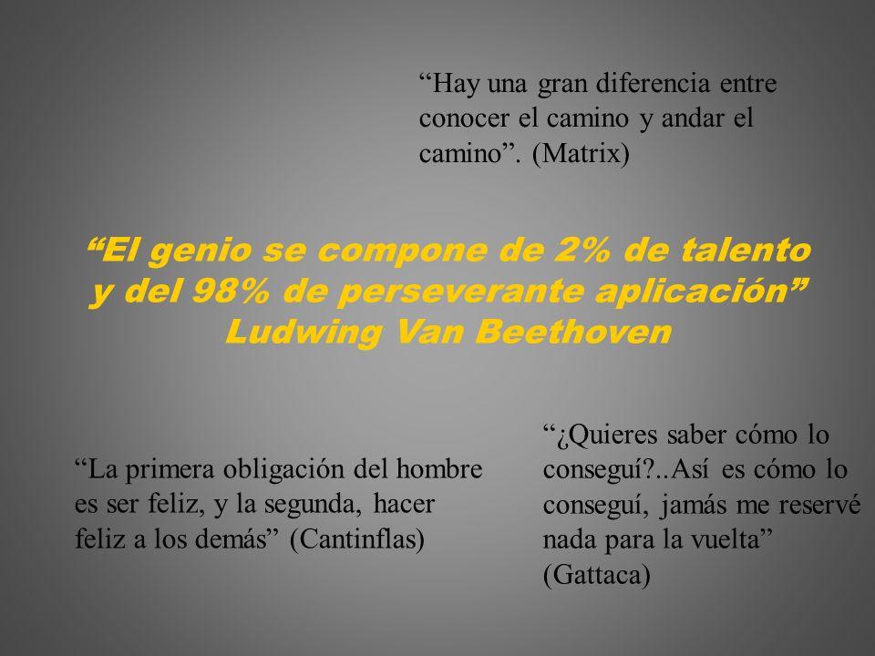 El genio se compone de 2% de talento
