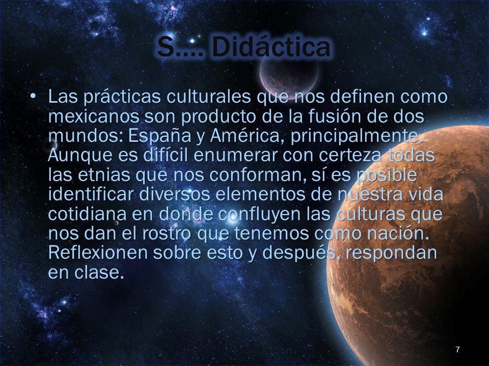 S…. Didáctica