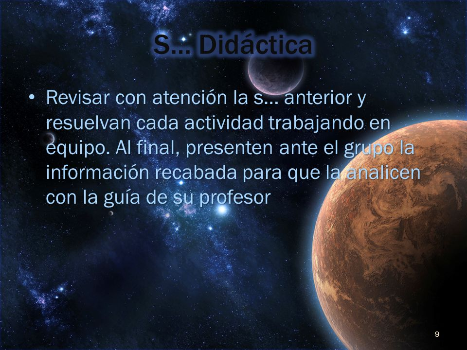 S… Didáctica