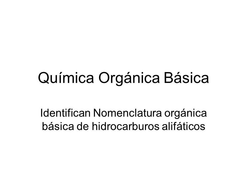 Química Orgánica Básica