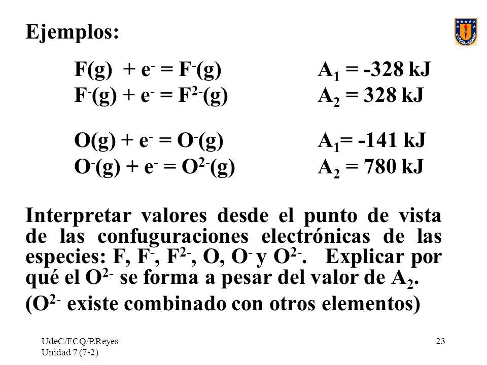 (O2- existe combinado con otros elementos)