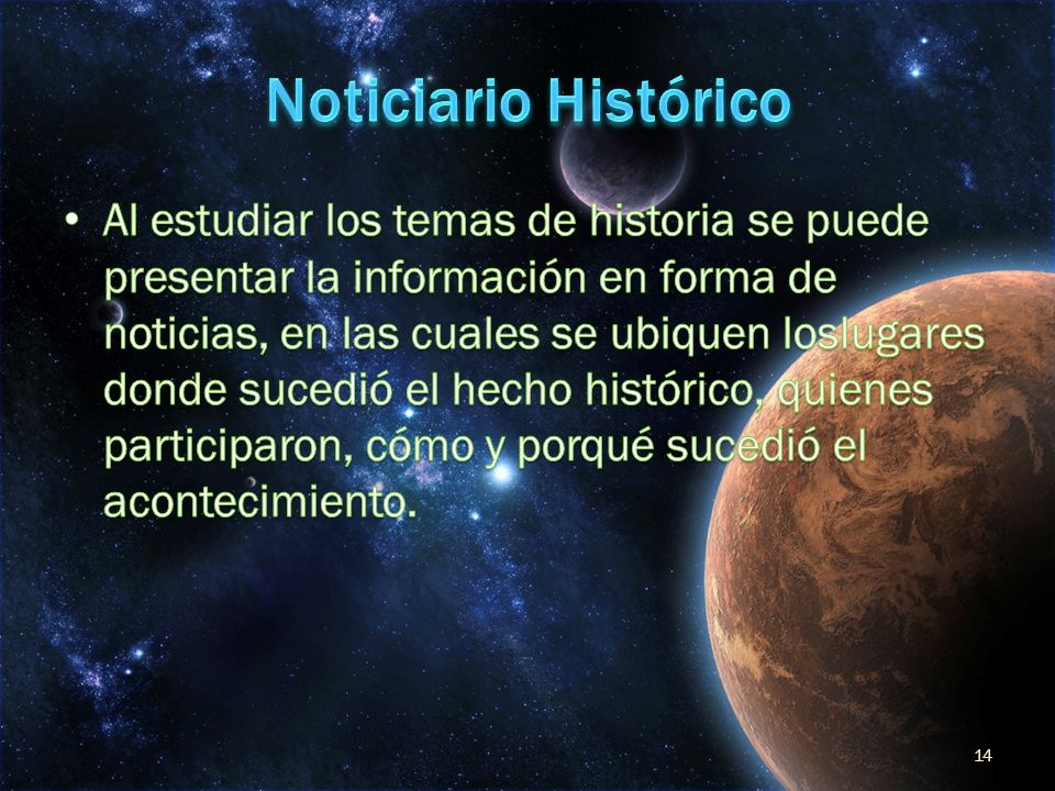 Noticiario Histórico