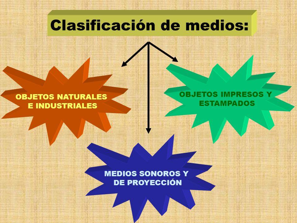 Clasificación de medios: